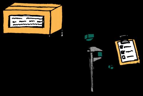 Verify items in a box